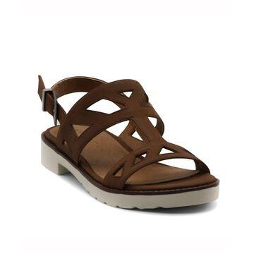 Seka Strippy Flat Sandal