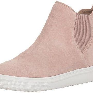 Blondo Women's Gennie Waterproof Sneaker, light pink suede, 8.5 M US