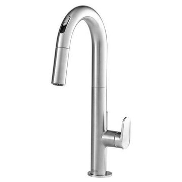 American Standard Beale Pull-Down Kitchen Faucet With Selectronic Hands-Free Technology 1.5 GPM in Stainless Steel