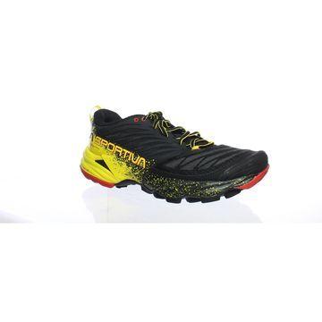 La Sportiva Mens Akasha Black/Yellow Hiking Shoes Size 9.5