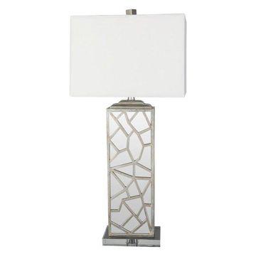 Surya Woodmere Glam Table Lamp