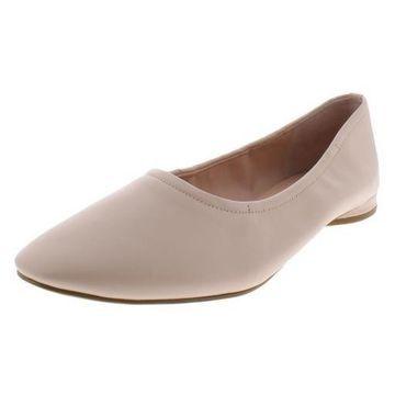 Avec Les Filles Womens Myrina Denim Slip On Ballet Flats