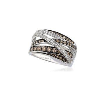 Le Vian Chocolatier Diamond & 14K White Gold Band Ring