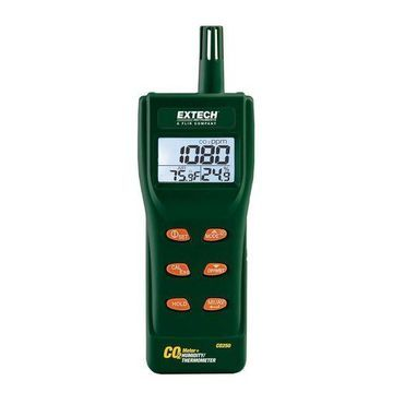New Extech Instruments CO250 Portable Indoor Air Quality CO2 Meter/Datalogger