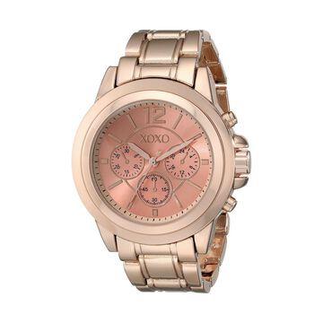 XOXO Womens XO5591 Rose Gold-Tone Bracelet Watch