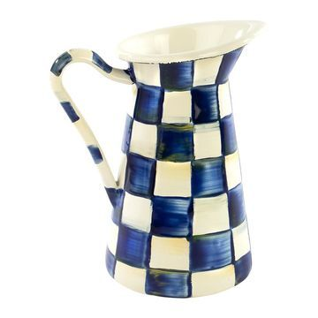 MacKenzie-Childs - Royal Check Practical Pitcher - Small