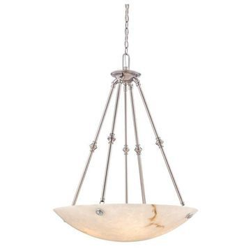 Minka Metropolitan Virtuoso II 5-Light Pendant, Pewter, Plated