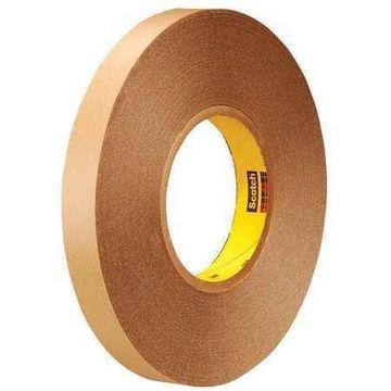 SCOTCH T9539425 Rmvble Dbl Side Film Tape,5.8 Mil,1/2x72 yds.,Clr,PK18