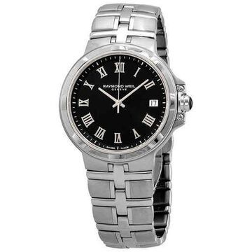Raymond Weil Parsifal Black Dial Men's Watch 5580-ST-00208