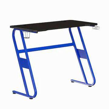 Flash Furniture 52W Gaming Ergonomic Desk, Blue (NANRSG1030BL) | Quill