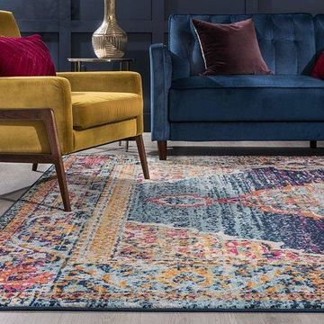 Bliss Rugs Irma Transitional Indoor Area Rug