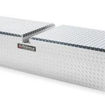 Lund Ultima Gull Winged Truck Tool Box in Polished