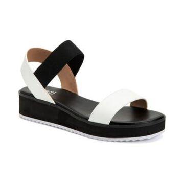 Alfani Lobbie Sporty Flat Sandals, Created for Macy's Women's Shoes
