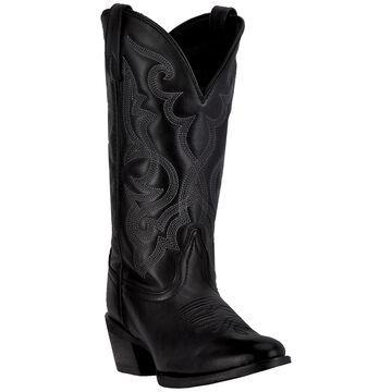 Laredo Womens Maddie Cowgirl Boot, Black