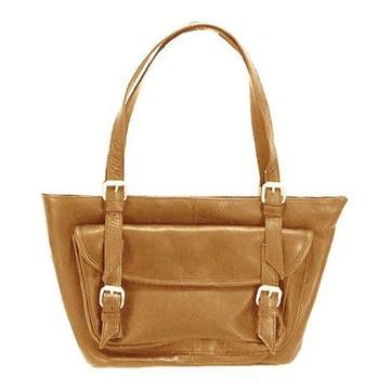 Latico Women's Millie E/W Tote 0242 Natural Leather - US Women's One Size (Size None)