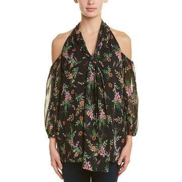 Shoshanna Womens Silk Blouse