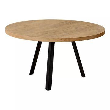 Monarch Round Coffee Table, Multicolor