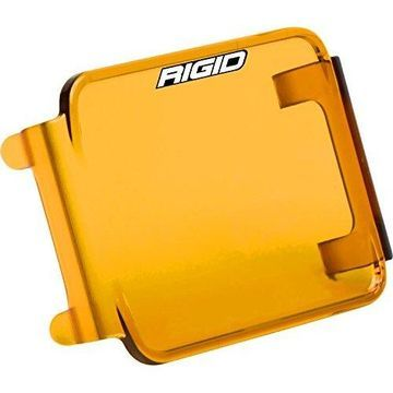 Rigid Industries D-Series Lens Cover - Amber