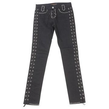Saint Laurent Black Cotton Jeans