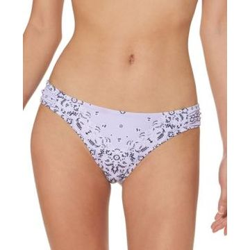 Jessica Simpson Printed Hipster Bikini Bottoms Women's Swimsuit