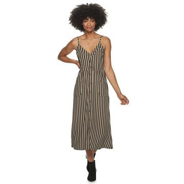 Juniors' Speechless Stripe Maxi Dress