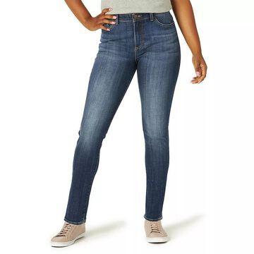 Women's Lee Legendary Skinny Jeans, Size: 16 Short, Med Blue