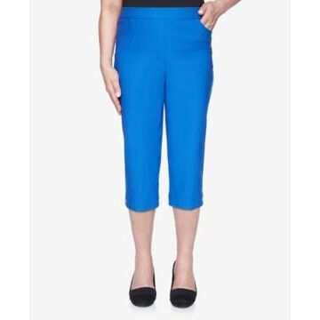 Alfred Dunner Super Stretch Pull On Allure Capri
