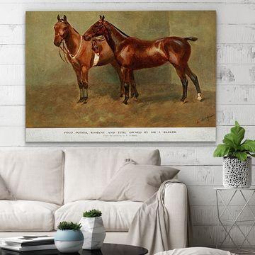 Wexford Home 'Equine Sketch XXVI' Wall Art