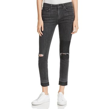 Derek Lam 10 Crosby Womens Devi Denim Mid-Rise Skinny Jeans