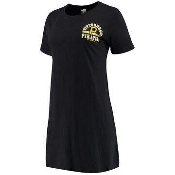 Pittsburgh Pirates 5th & Ocean by New Era Women's Tee Dress - Black