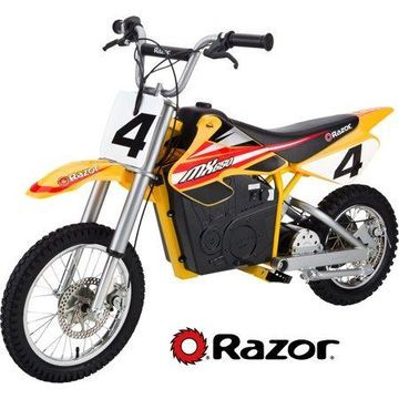 Razor 36 Volt Electric Powered MX650 Dirt Rocket Motocross Off-Road Bike - For Ages 16+ and Speeds up to 17 MPH