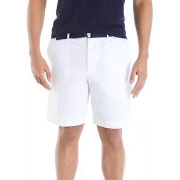Savane Men's Belted Twill Shorts -