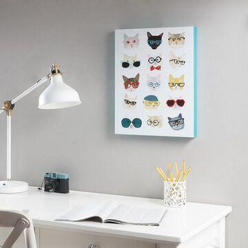 Intelligent Design Hip Cat Box Wall Art