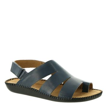 Auditions Speed Women's Navy Sandal 6 W