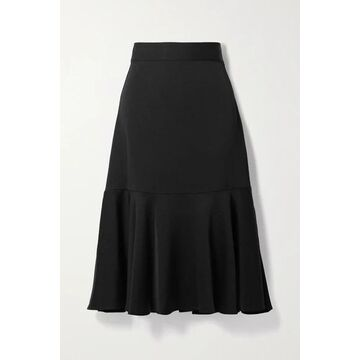 Vanessa Bruno - Papillon Tiered Crepe Midi Skirt - Black