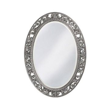 Howard Elliott Suzanne Glossy Nickel Mirror