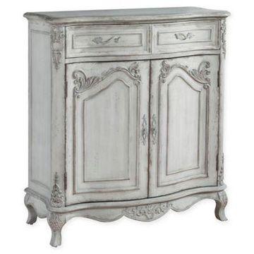 Pulaski Rebecca Wine Cabinet in White