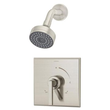 Symmons Duro Satin Nickel 1-Handle Shower Faucet (Valve Not Included) | S-3601-STN-TRM