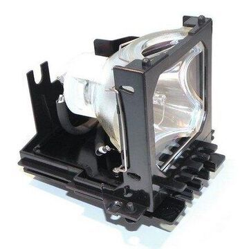 Hitachi CP-X1250 Projector Housing with Genuine Original OEM Bulb