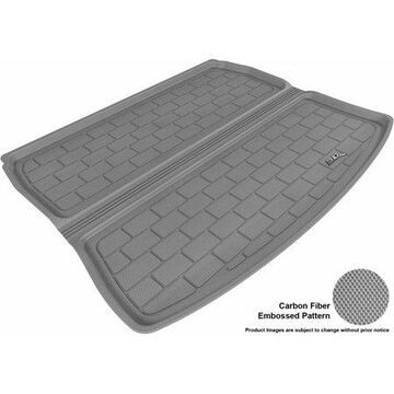 3D MAXpider 2006-2013 Audi A3 All Weather Cargo Liner in Gray with Carbon Fiber Look