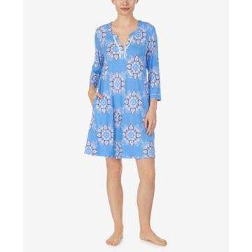 Ellen Tracy Knit Tunic Nightgown