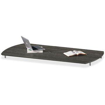 Mayline Medina Series Laminate Curved Desk Top