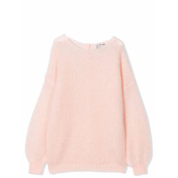 Il Gufo Sweater With Back Buttons