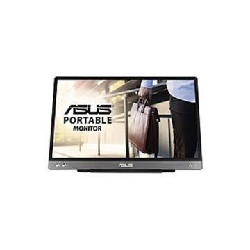 """Asus ZenScreen MB14AC 14"""" Full HD LCD Monitor - 16:9 - Dark Gray - 14"""" Class - Vertical Alignment (VA) - 1920 x 1080 - 250 Nit Maximum - 5 ms GTG"""