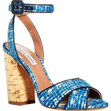 Tabitha Simmons Womens Connie Dress Sandals Pumps Ankle Strap
