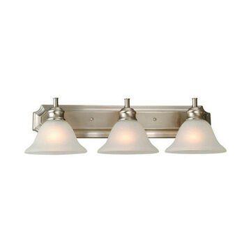 Design House 510263 Bristol 3 Light Bathroom Vanity Fixture