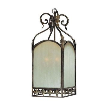 Jeremiah Lighting Devereaux 6-Light Foyer in Burleson Bronze