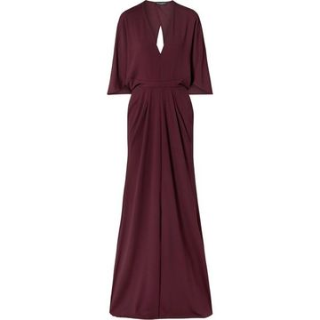 Narciso Rodriguez - Stretch-crepe Gown - Burgundy