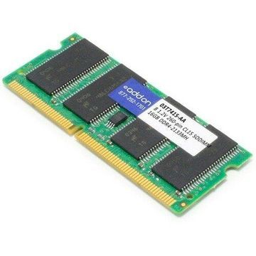 AddOn AA2133D4DR8S/16G x1 Lenovo 03T7415 Compatible 16GB DDR4-2133MHz Unbuffered Dual Rank x8 1.2V
