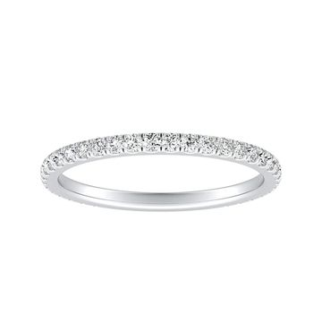 Auriya Platinum 1/3cttw Diamond Wedding Band